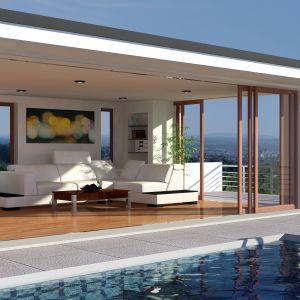 """Mostki termiczne to najogólniej mówiąc """"bolączka"""" każdego budynku energooszczędnego. Szczególnie tych, w których zaprojektowano dodatkowe balkony i tarasy. Te elementy są nieogrzane i wystawione na oddziaływanie niskich i wysokich temperatur oraz wilgoci. Fot. Quick-Mix"""