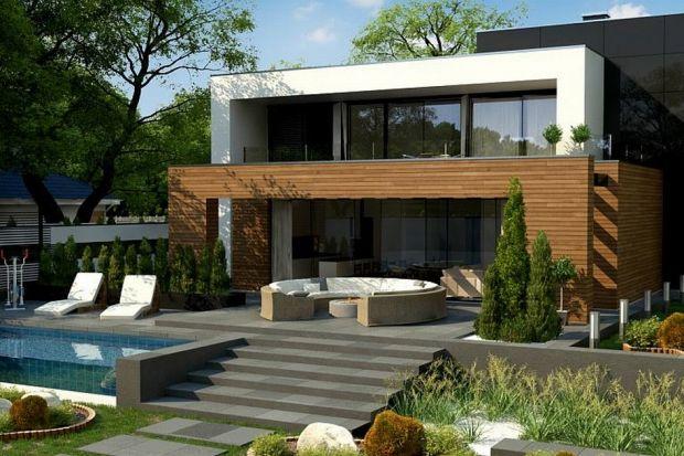 Zx152 jest projektem dużego, nowoczesnego, piętrowego domu, wywierającym ogromne wrażenie na każdym, kto gustuje w nowoczesnym stylu.Dom ten dedykowany jest dla osób ceniących sobie duże przestrzenie jak i proste, surowe formy.