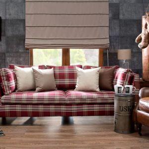 Pokrowiec na sofę Stockholm z kolekcji Edinburgh. Fot. Dekoria.pl