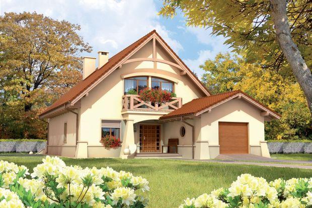 Prezentujemy projekt tradycyjnego domu parterowego z użytkowym poddaszem, niepodpiwniczony, z wbudowanym garażem jednostanowiskowym. Idealnie sprawdzi się dla 5-6-osobowej rodziny.