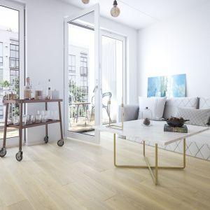 Teraz producent postanowił wyjść naprzeciw oczekiwaniom klientów znużonych minimalizmem i chłodną surowością nowoczesnej architektury i zagwarantować im wybór aranżacji, których ograniczeniem będzie jedynie ludzka wyobraźnia. Fot. Jawor-Parkiet
