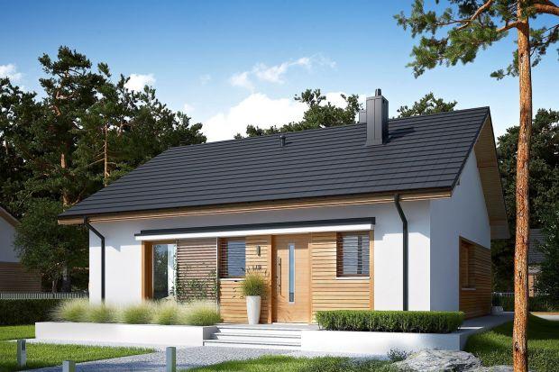Elmo Economic to prosty i tani w budowie dom, który łączy funkcjonalność z nowoczesnością. Ten projekt maksymalnie wykorzystuje powierzchnię użytkową.
