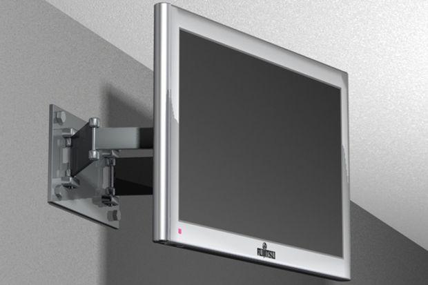 Coraz częściej zamiast stolików i komód pod telewizor decydujemy się na zawieszenie sprzętu na ścianie. Pozwala to zaoszczędzić cenną przestrzeń w małym mieszkaniu, ale też designersko zaaranżować kącik telewizyjny w pokoju dziennym. Wszys