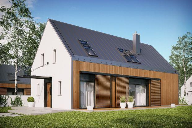 EX 14 soft to archetyp domu jednorodzinnego w nowoczesnym wymiarze. Prosta forma z dwuspadowym dachem nawiązuje do tradycji i wprowadza do krajobrazu dyscyplinę geometrii oraz potrzebną harmonię, a dodatkowo sprzyja energooszczędności.