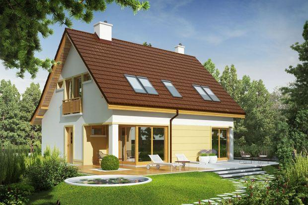 Tani dom łączący elegancję i sprawdzone rozwiązania. Zobacz projekt!