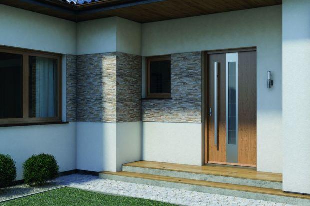 Wybierając drzwi wejściowe warto zadbać nie tylko o parametry techniczne, ale także o wygląd skrzydła i dopasowanie go do stylu, w którym urządziliśmy dom.