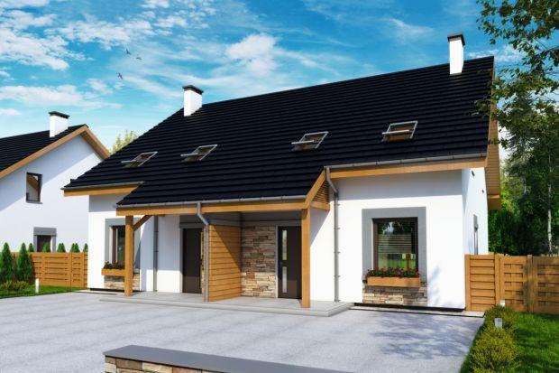 Azalia to prosty w budowie dom, co przekłada się na niski koszt jego budowy i użytkowania.