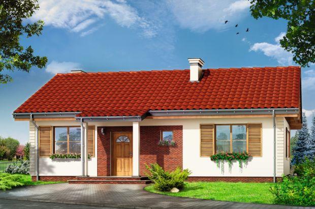 Szpak to prosty w budowie parterowy dom jednorodzinny, o spokojnej, skromnej architekturze. Budynek przeznaczony dla 4-osobowej rodziny.