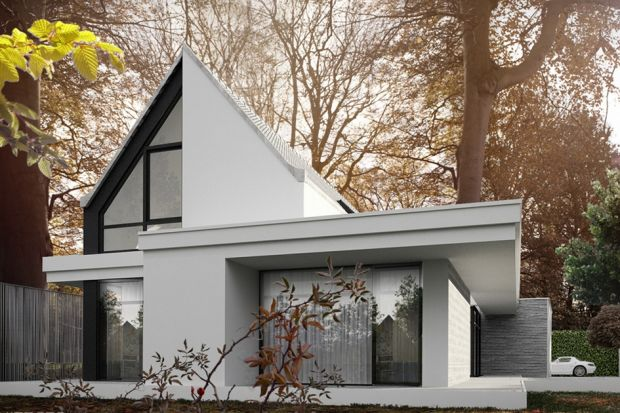 Piękny, nowoczesny dom w parkowej dzielnicy Wrocławia