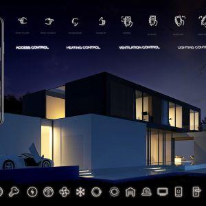 Inteligentny dom to przede wszystkim komfort i bezpieczeństwo. Wizualizacje & Grafika: BXBstudio Bogusław Barnaś & Looma