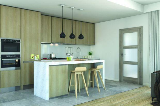Drzwi w nowoczesnej kuchni