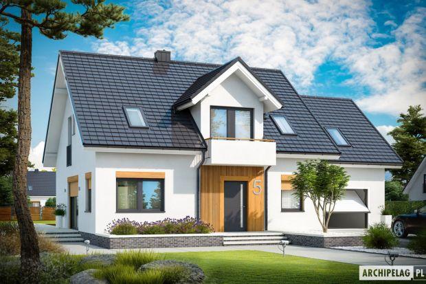 Zobacz projekt nowoczesnego domu o powierzchni 135 m kw.