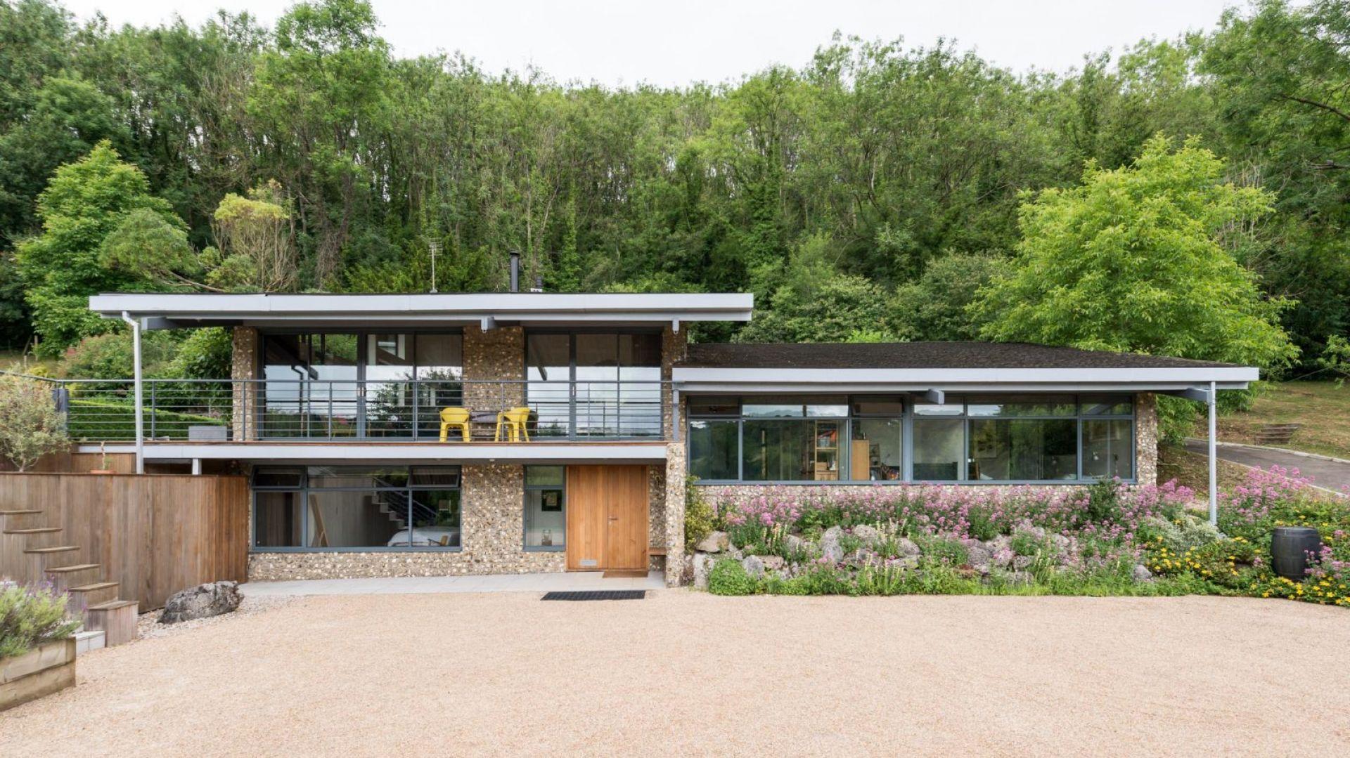 Powierzchnia użytkowa domu Sevenoaks Kent wynosi ponad 230 m kw. Fot. Giles Henry