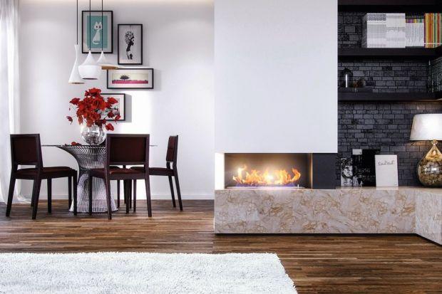 Jasne i ciepłe wnętrze małego domu