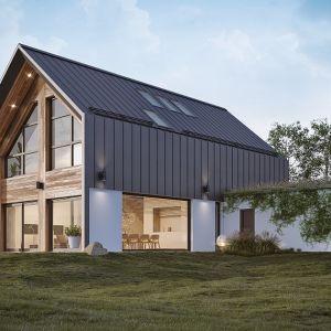 Cena domu zależna jest od wielu czynników – metrażu, założeń projektowych, sposobu organizacji prac budowlanych, cen materiałów. Fot. MULTICOMFORT Saint-Gobain