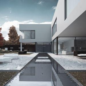 W projektach Studio.O. pojawiają się przeszklenia i ściany okien. Zabieg ten architekci nazywają otwarciem domu na ogród. Fot. Studio.O.