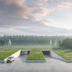 Kluczowym elementem całego budynku jest dach i to on ma przyciągać uwagę. Fot. 81.waw.pl