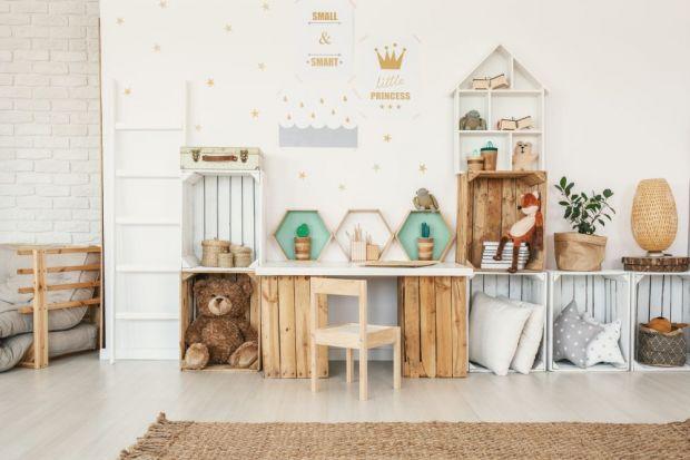 Nowe kolory w pokoju dziecka