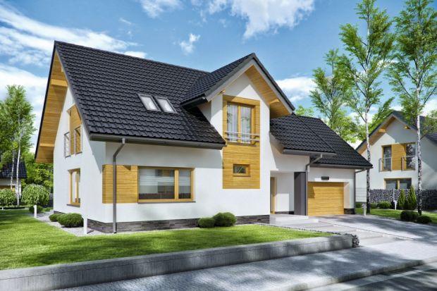 Projekt nowoczesnego domu (132 m kw.) z poddaszem użytkowym