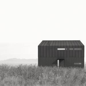 Elewacja od strony drogi. Fot. Malinowski Studio