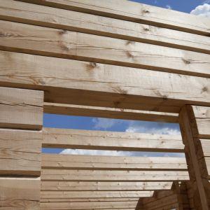 """Drewno to materiał naturalny, który stale """"pracuje"""", co oznacza, że dostosowuje swoją objętość do warunków otoczenia. Fot. Drewnochron"""