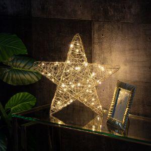 Dekoracja Gold Star Led. Fot. Dekoria.pl