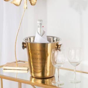 Cooler do szampana Genuine gold. Fot. Dekoria.pl