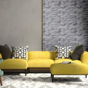 Hernan Gomez podkreśla, że obecnie jednym z najsilniejszych trendów architektonicznych jest delikatna Calacatta, którą można odnaleźć w subtelnym wzorze kamienia dekoracyjnego Calama. Fot. Stone Master
