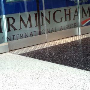 Birmingham International Airport, Fot. Flowcrete