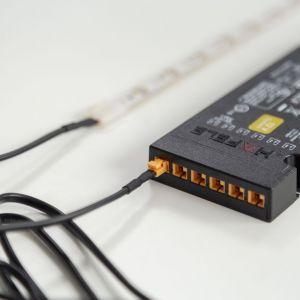 Oprawy akumulatorowe sprawdzą się także w szufladach i wnękach. Przy montażu wystarczy je tylko nasunąć na płytę montażową. Fot. Loox LED