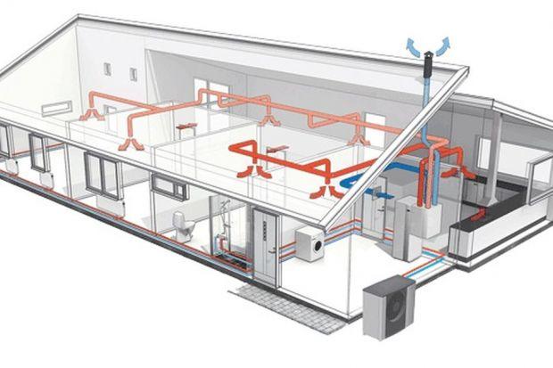 Urządzeniem, które umożliwia odzysk ciepła z usuwanego z pomieszczeń powietrza, jest rekuperator - element wentylacji mechanicznej. Ciepłem tym ogrzewane jest następnie świeże powietrze nawiewane z zewnątrz. Z naszych obliczeń wynika, że zasto