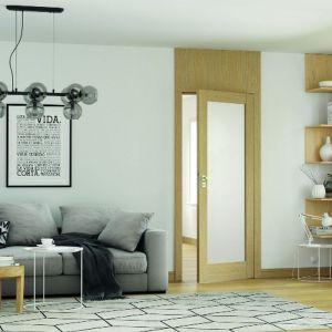 Drzwi Natura Grande. Oryginalny wzór drewna będzie umiejętnie współgrał z elementami dekorującymi wnętrze. Fot. Porta