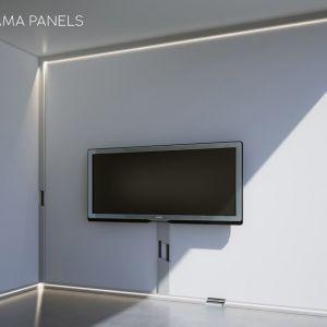 1. Aluminiowe listwy przypodłogowe STRAMA® STRAMA-PIOTR STRAMA, Szaflary