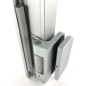 2. Aluminiowe ościeżnice do drzwi szklanych ze zintegrowanymi zawiasami - System CGLASS OFFICE NORGPOL CZERWIŃSKI SPÓŁKA JAWNA, Warszawa