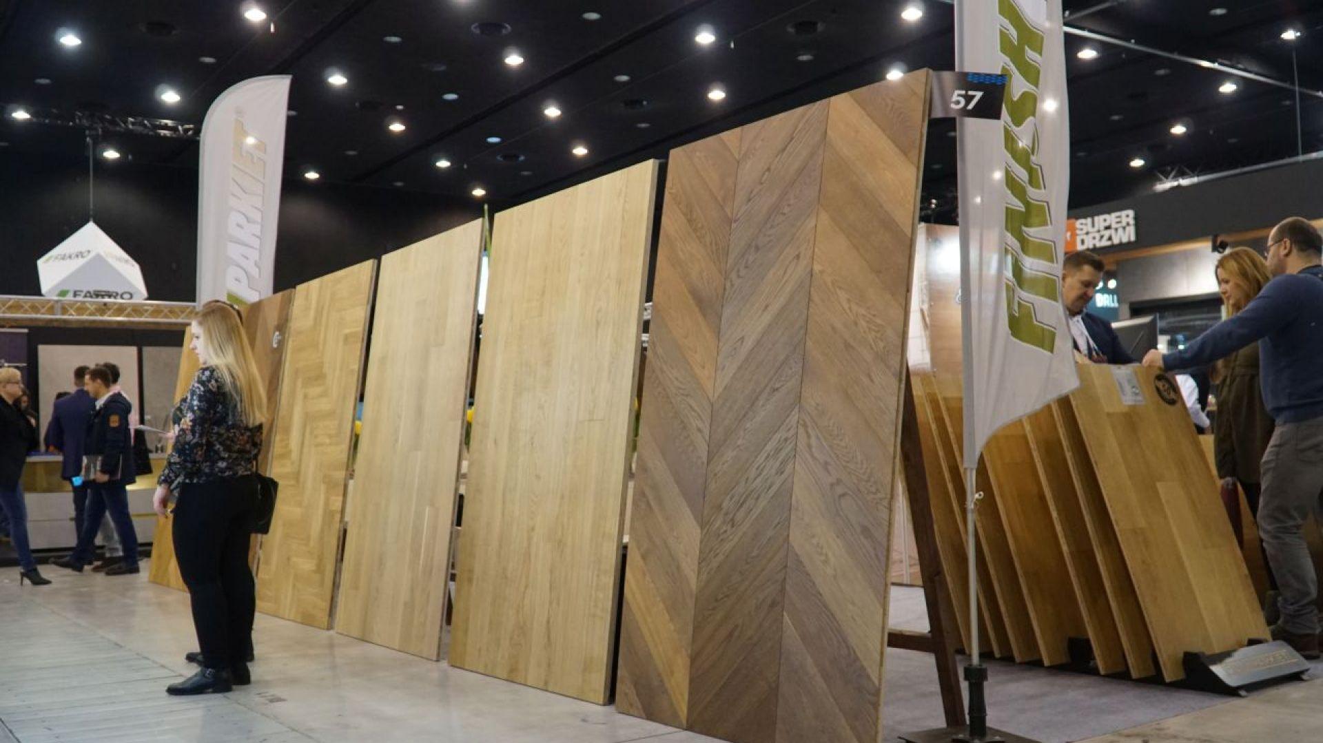 Stoisko firmy Finishparkiet w trakcie 4 Design Days 2019