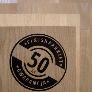 Finishparkiet daje najdłuższą gwarancję na rynku podłóg drewnianych, na swoje produkty sięgającą aż 50-lat