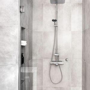 Idealna kabina prysznicowa jest, przede wszystkim, dopasowana do wnętrza – zarówno wielkością, jak i funkcjonalnościami. Fot. Oras