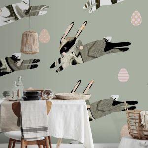 Naklejki na ściany, czy meble pozwalają na stworzenie niesamowitych dekoracji, które z łatwością można odkleić i przechować, by ozdobić nimi dom na kolejne Święta. Fot. Pixers