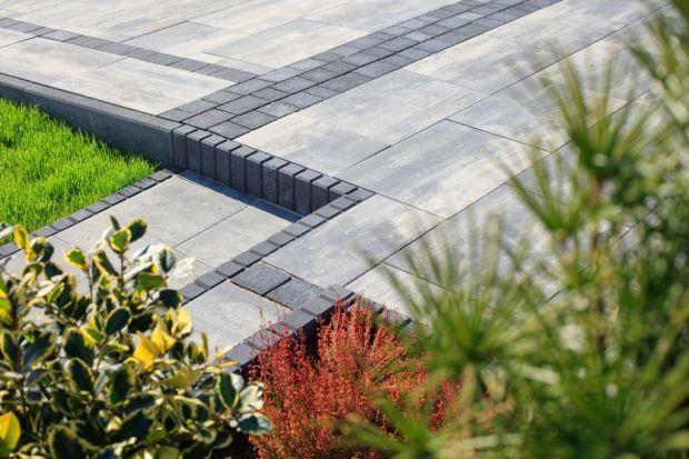 Otoczenie domu w stylu modernistycznym