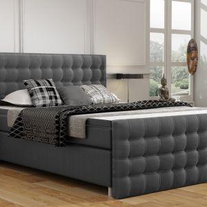 Nowojorczycy ogromną wagę przywiązują do wygody. Dlatego też ważne, by w sypialni rodem z Manhattanu znalazło się łóżko kontynentalne. Na zdjęciu: łóżko kontynentalne New York. Fot. Comforteo