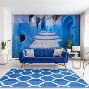 Uliczka w Maroko - wąskie uliczki ze schodami, które tworzą niekończące się labirynty - pobudzą naszą wyobraźnię i zadziałają uspokajająco. Fot. Demural