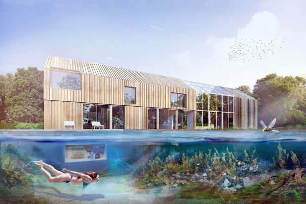 Dom symbiotyczny - życie w zgodzie z naturą