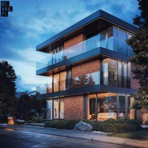 Pomimo dużej ilości szklanych elementów, budynek daje domownikom dużo swobody i intymności. Fot. 81.WAW.PL
