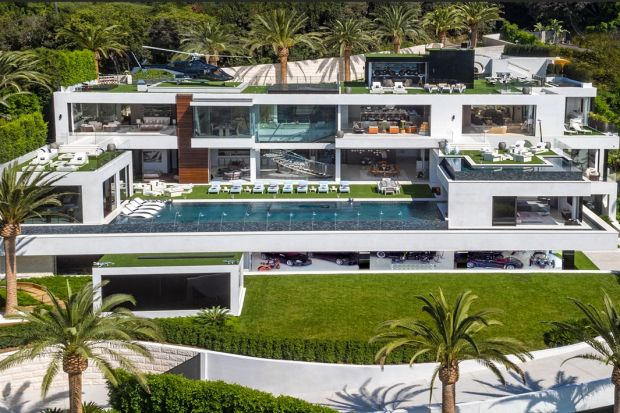 Piękny, nowoczesny dom za, bagatela, 150 mln dolarów