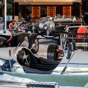 Kolekcja luksusowych samochodów. Ich wartość ocenia się na około 30 mln dolarów. Fot. Bruce Makowsky / BAM Luxury Development