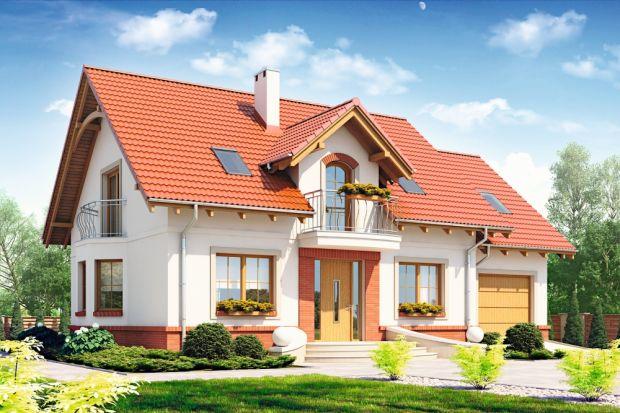 Dom dla Ciebie 1 (A) to projekt tradycyjnego, pięknego domu zużytkowym poddaszem. Jest idealny dla 4-osobowej rodziny.