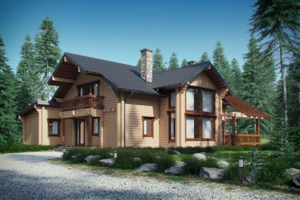 D53 to dom mieszkalny jednorodzinny w technologii drewnianej – z bala. Idealny dla 4-5-osobowej rodziny.