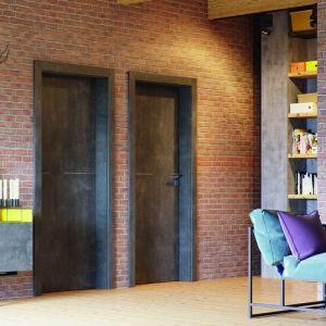 Skrzydła z kolekcji Porta Line wkomponują się we współczesne wnętrza, np. w stylu industrialnym. Fot. Porta