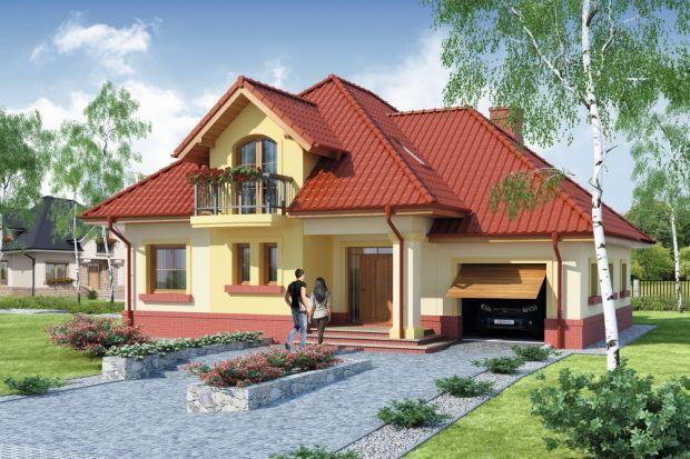 Dandys 1 to projekt domu z tradycyjnej linii domów z użytkowym poddaszem. Przeznaczony jest dla 4-5-osobowej rodziny.