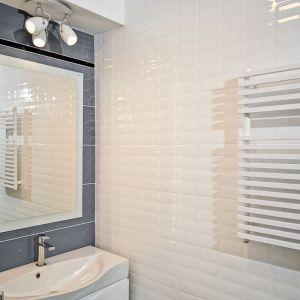 Sprawdzonym pomysłem, jeśli chodzi o powiększenie łazienki jest lustro. Odbicie lustrzane może sprawić, że łazienka stanie się znacznie większa. Fot. Luxrad